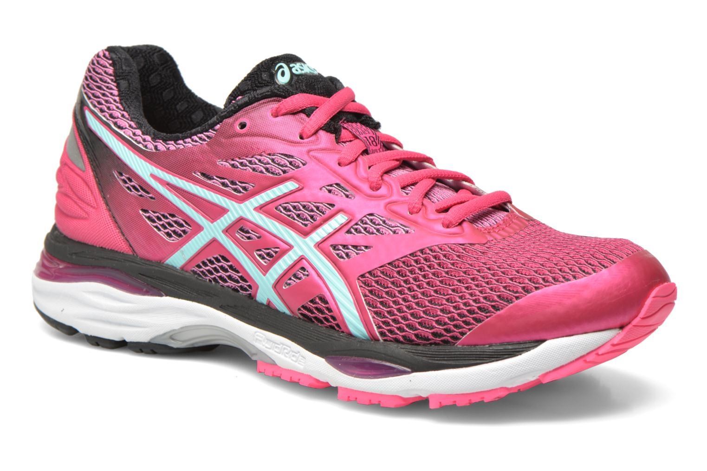 Chaussures de sport Asics Gel-Cumulus 18 W Rose vue détail/paire