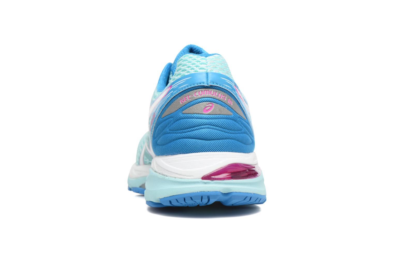 Chaussures de sport Asics Gel-Cumulus 18 W Bleu vue droite