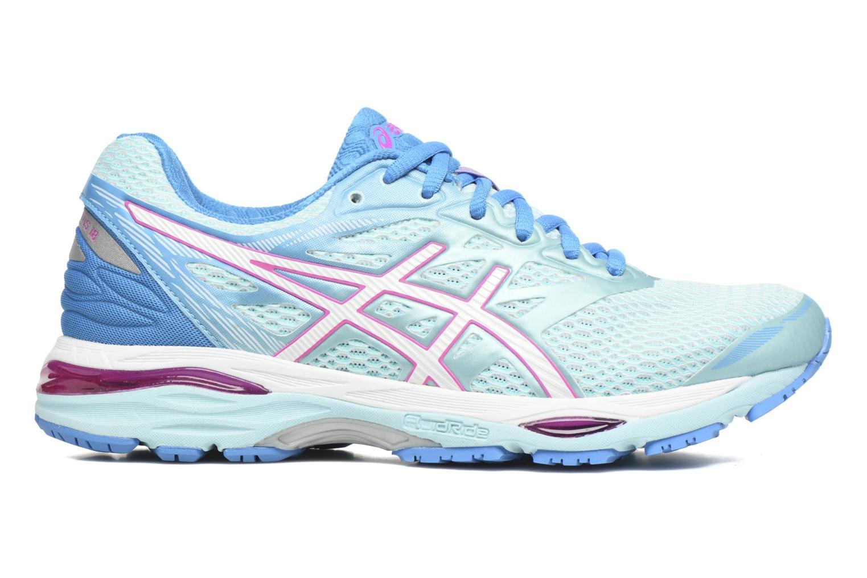 Chaussures de sport Asics Gel-Cumulus 18 W Bleu vue derrière