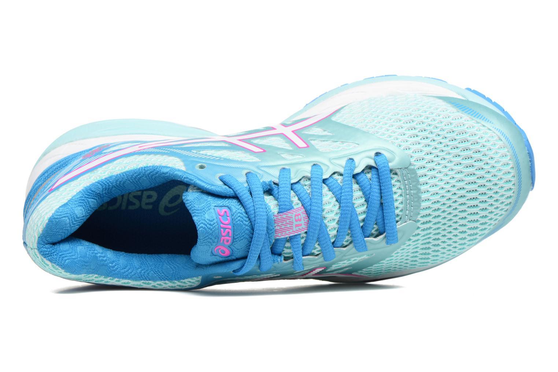 Chaussures de sport Asics Gel-Cumulus 18 W Bleu vue gauche