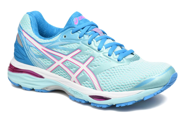 Chaussures de sport Asics Gel-Cumulus 18 W Bleu vue détail/paire