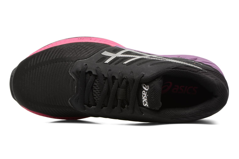 Chaussures de sport Asics Fuzex W Noir vue gauche