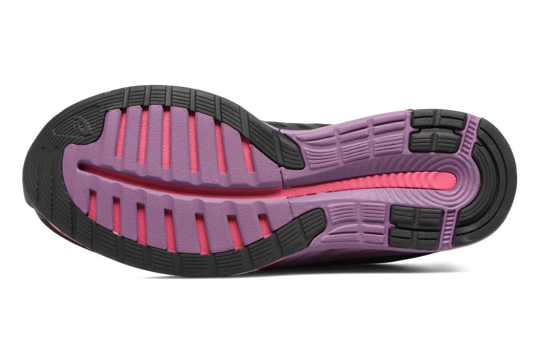 Chaussures de sport Asics Fuzex W Noir vue haut