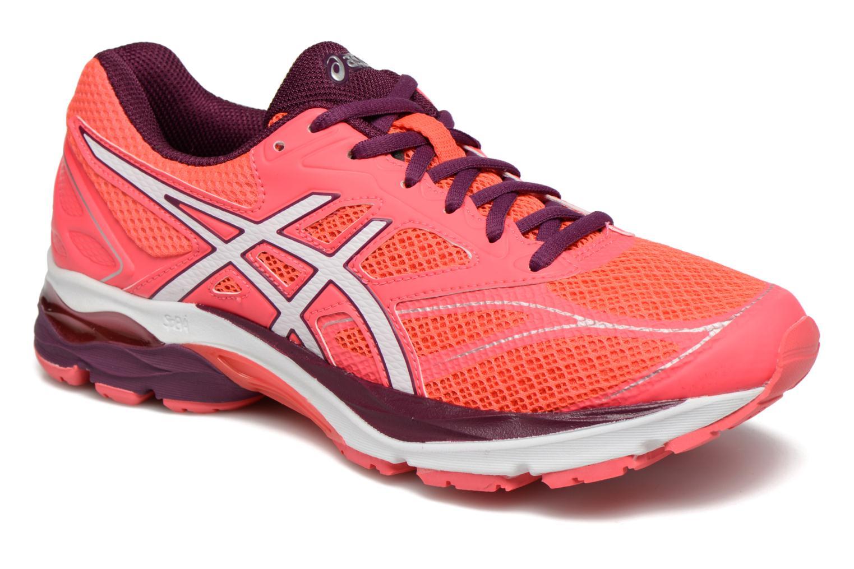 Chaussures de sport Asics Gel-Pulse 8 W Rouge vue détail/paire