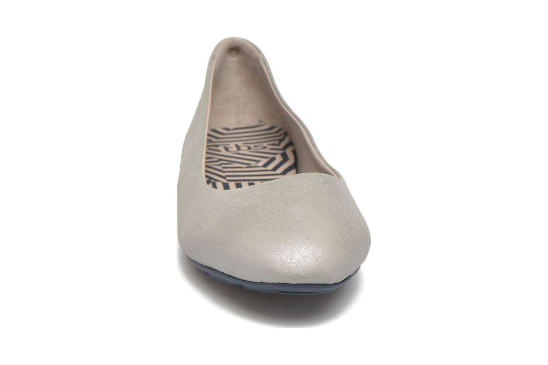 Ballerines TBS Camille Argent vue portées chaussures