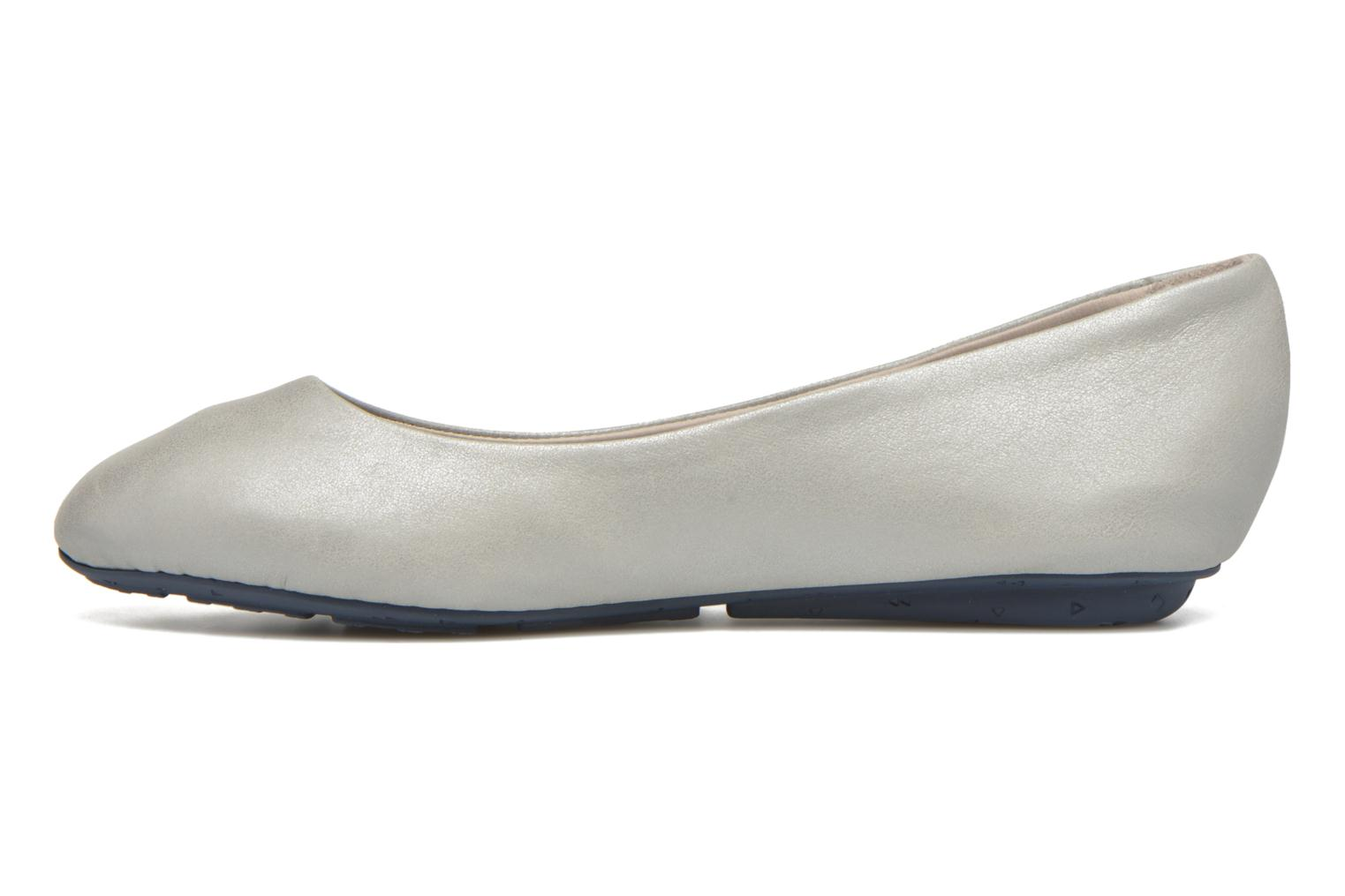 Ballet pumps TBS Camille Silver front view