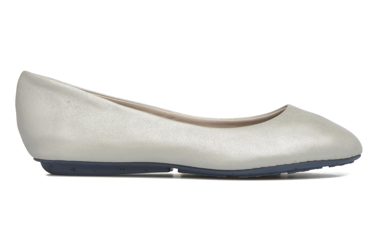 Ballet pumps TBS Camille Silver back view