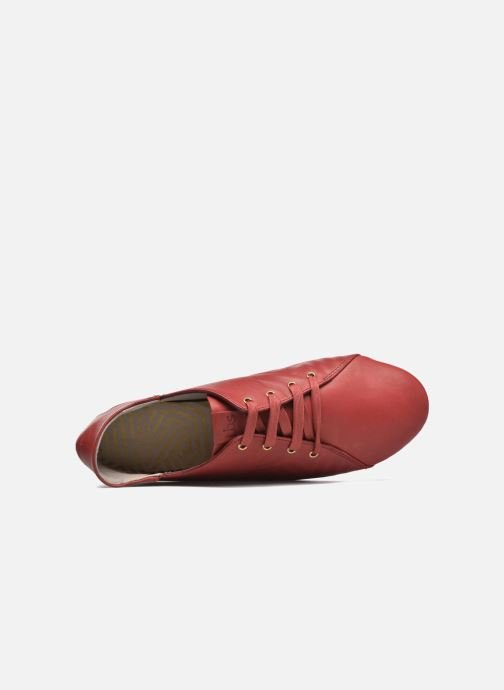 Chaussures à lacets TBS Charlyn Rouge vue gauche