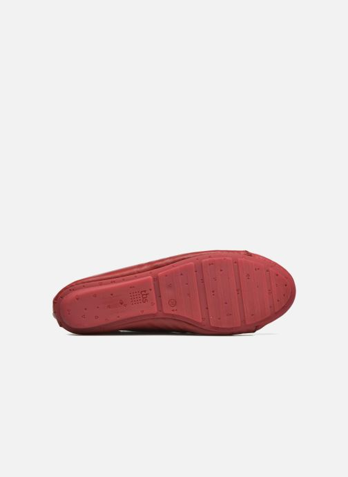 Chaussures à lacets TBS Charlyn Rouge vue haut