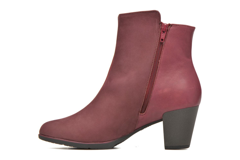 Bottines et boots TBS Katelyn Bordeaux vue face