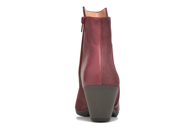 Bottines et boots TBS Katelyn Bordeaux vue droite