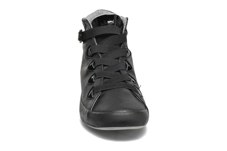 Baskets TBS Tallyah Noir vue portées chaussures