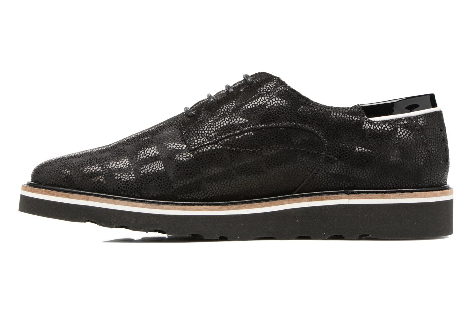 Lace-up shoes TBS Typhany Black front view