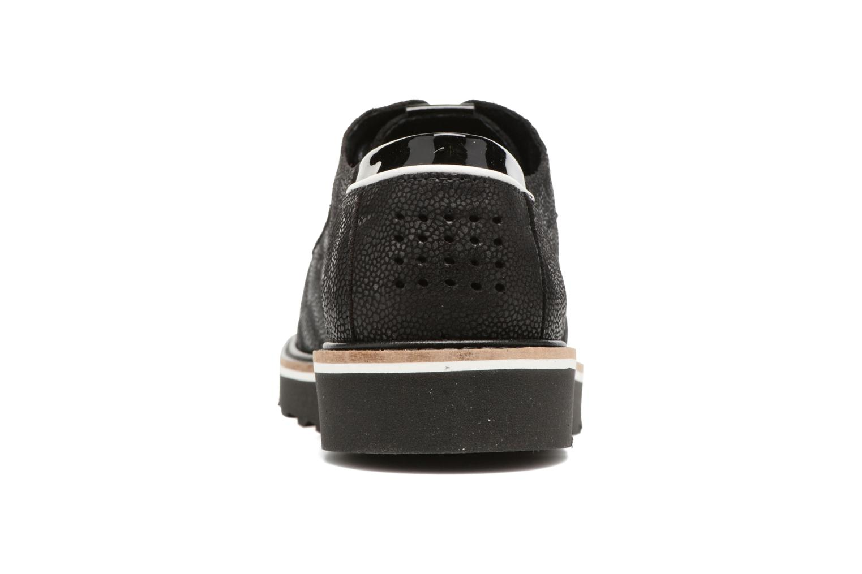 Zapatos con cordones TBS Typhany Negro vista lateral derecha