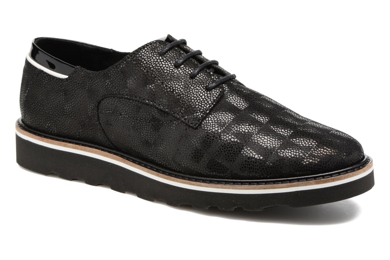 Zapatos con cordones TBS Typhany Negro vista de detalle / par