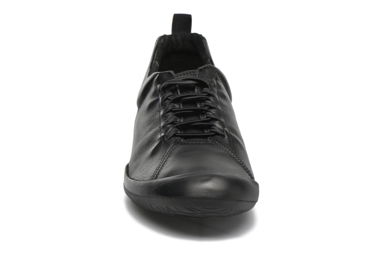 Baskets TBS Virginy Noir vue portées chaussures