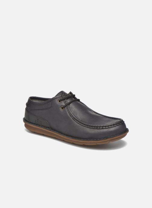 Chaussures à lacets TBS Yakari Noir vue détail/paire