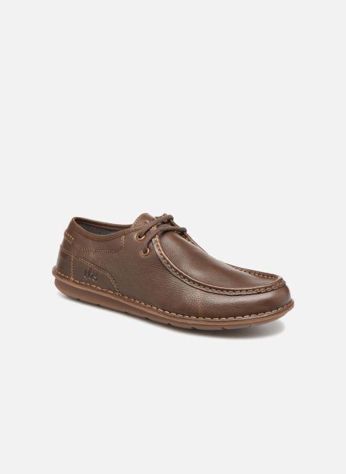 premium selection a4f43 67990 Chaussures à lacets TBS Yakari Marron vue détail paire