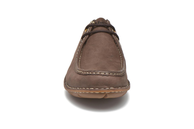 Zapatos con cordones TBS Yakari Marrón vista del modelo
