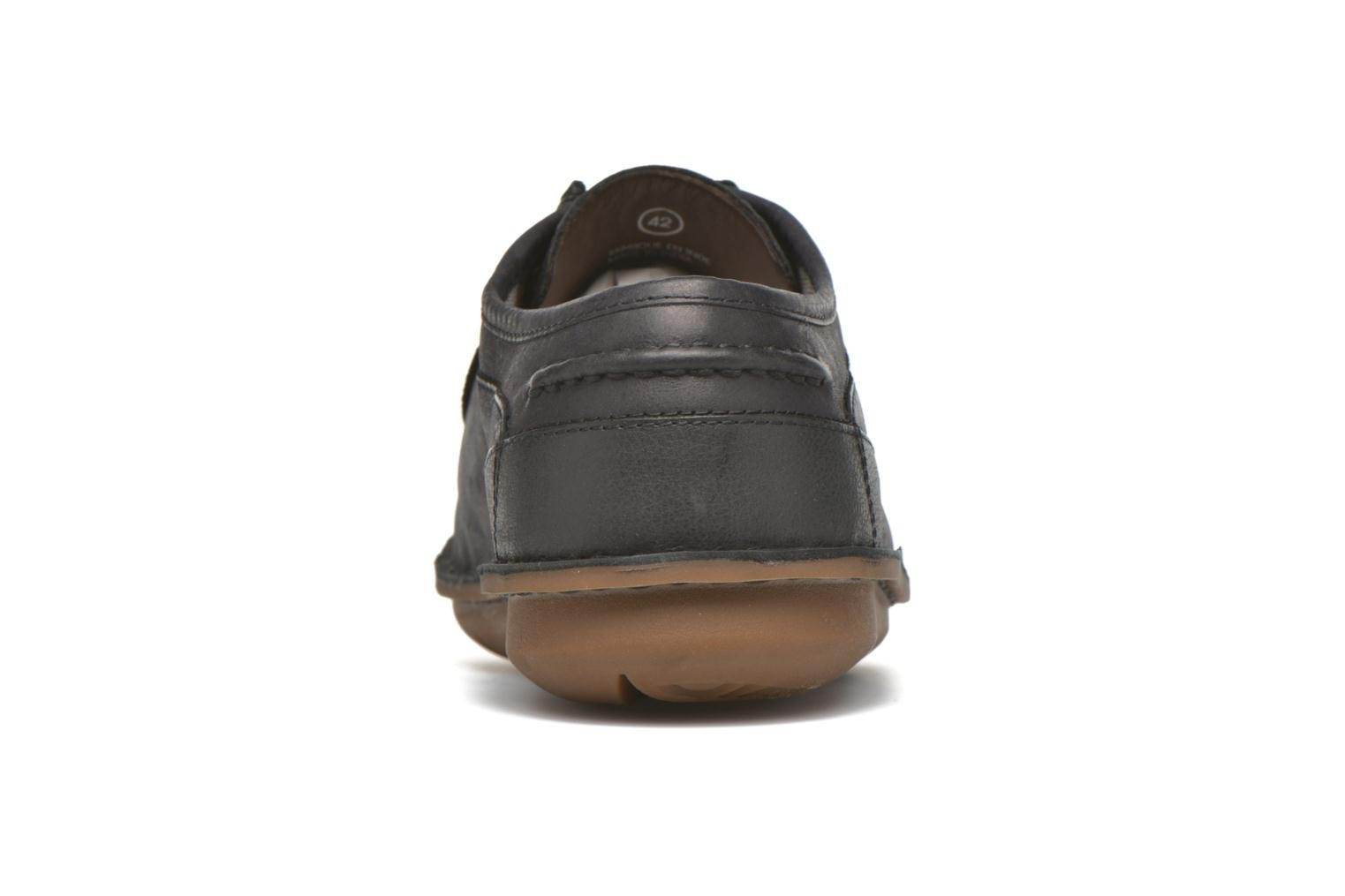 Lace-up shoes TBS Yakari Black view from the right