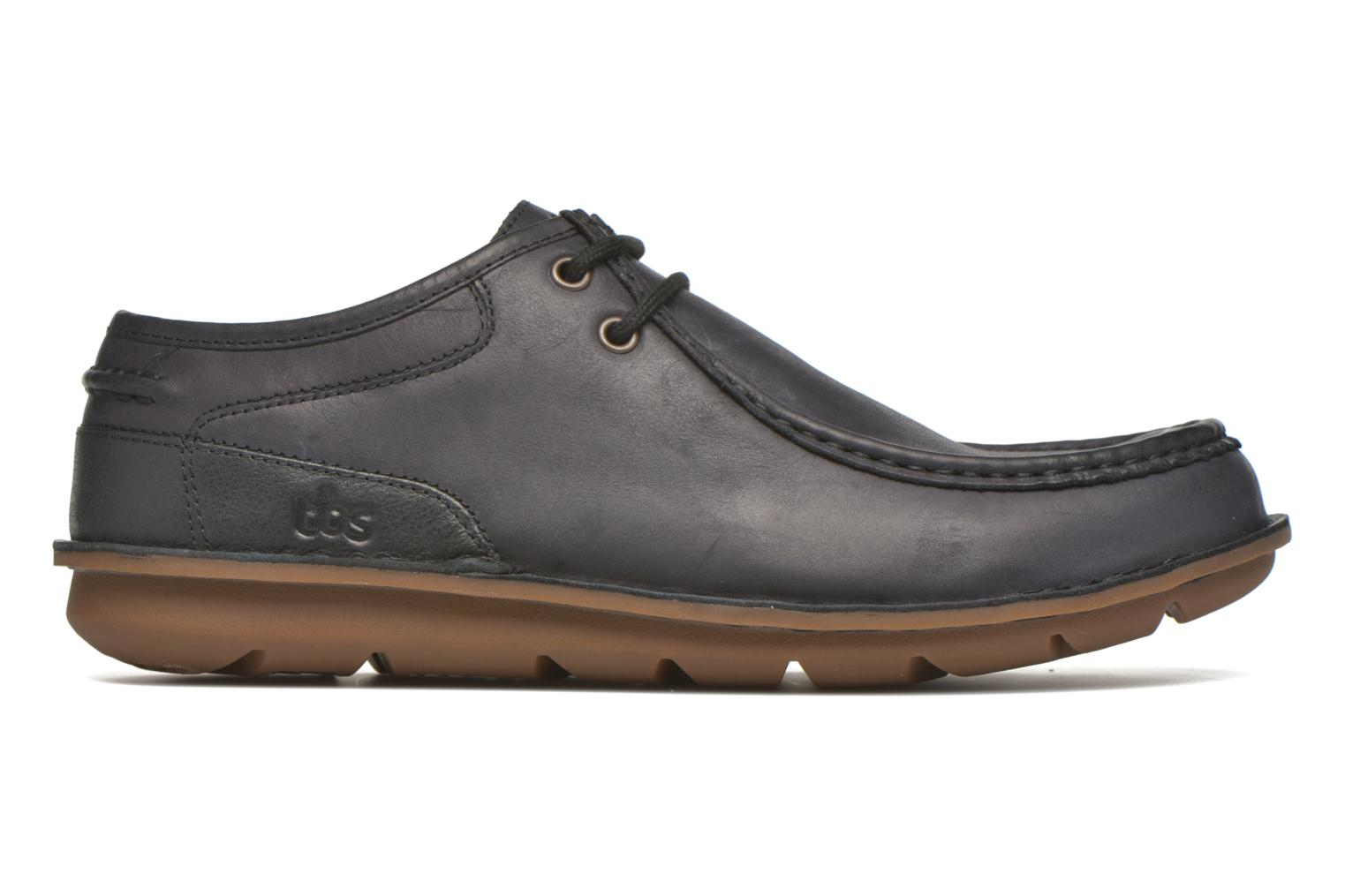 Lace-up shoes TBS Yakari Black back view
