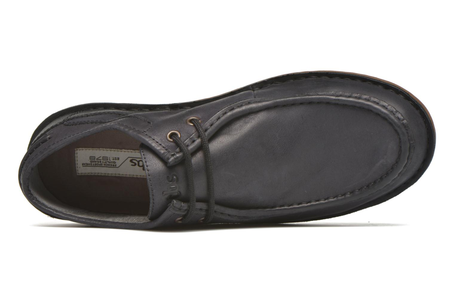 Lace-up shoes TBS Yakari Black view from the left