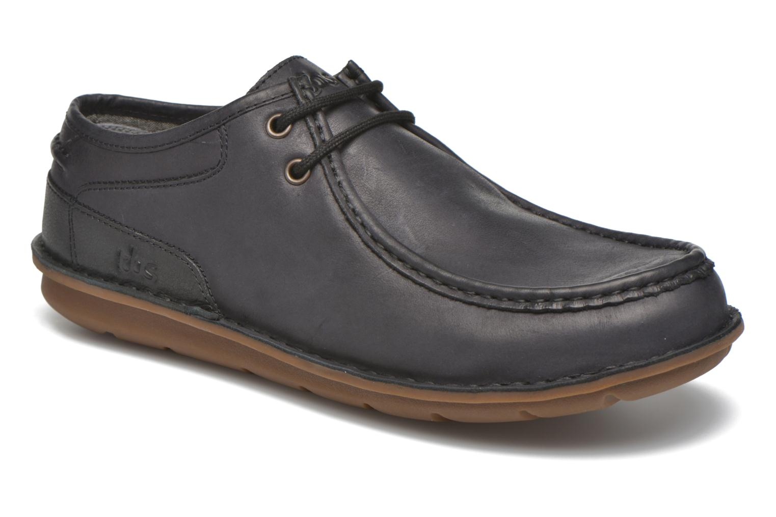 Lace-up shoes TBS Yakari Black detailed view/ Pair view