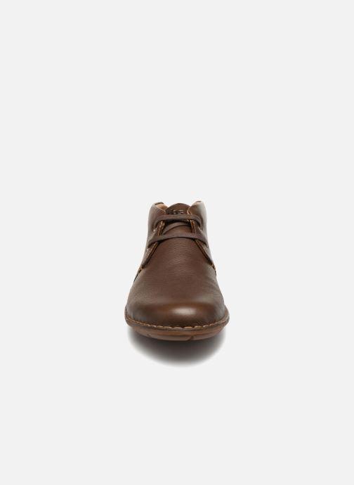 Zapatos con cordones TBS Ystoryh Marrón vista del modelo