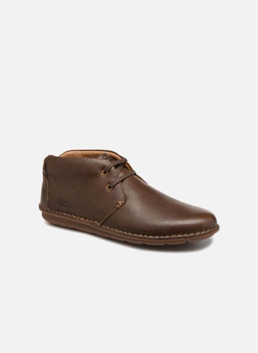 Zapatos con cordones TBS Ystoryh Marrón vista de detalle / par