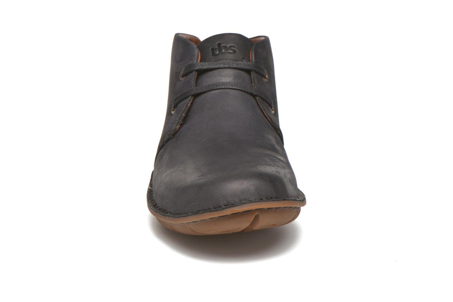 Lace-up shoes TBS Ystoryh Black model view