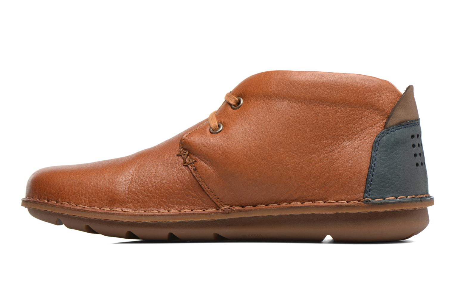 Lace-up shoes TBS Ystoryh Brown front view