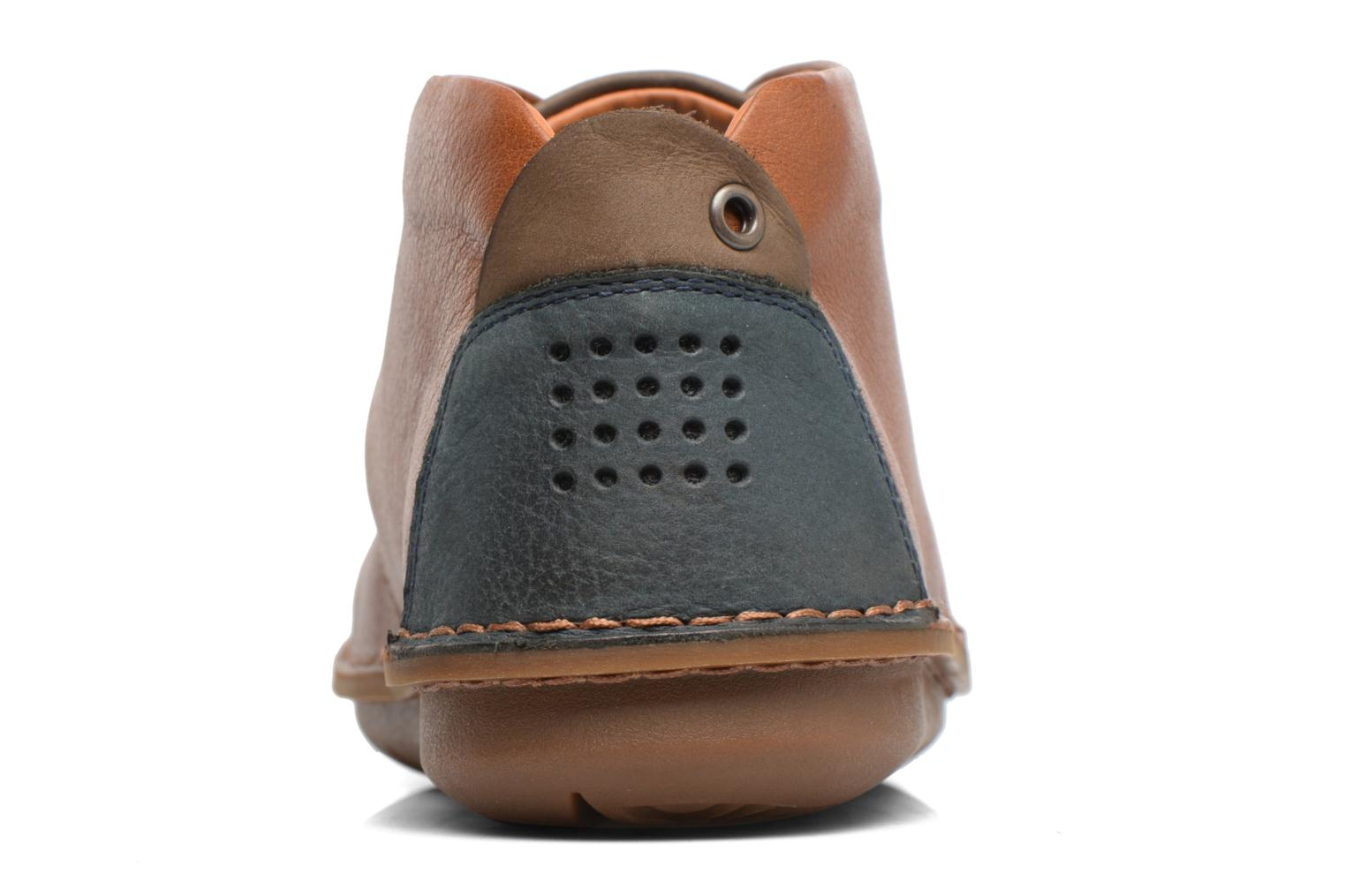 Lace-up shoes TBS Ystoryh Brown view from the right