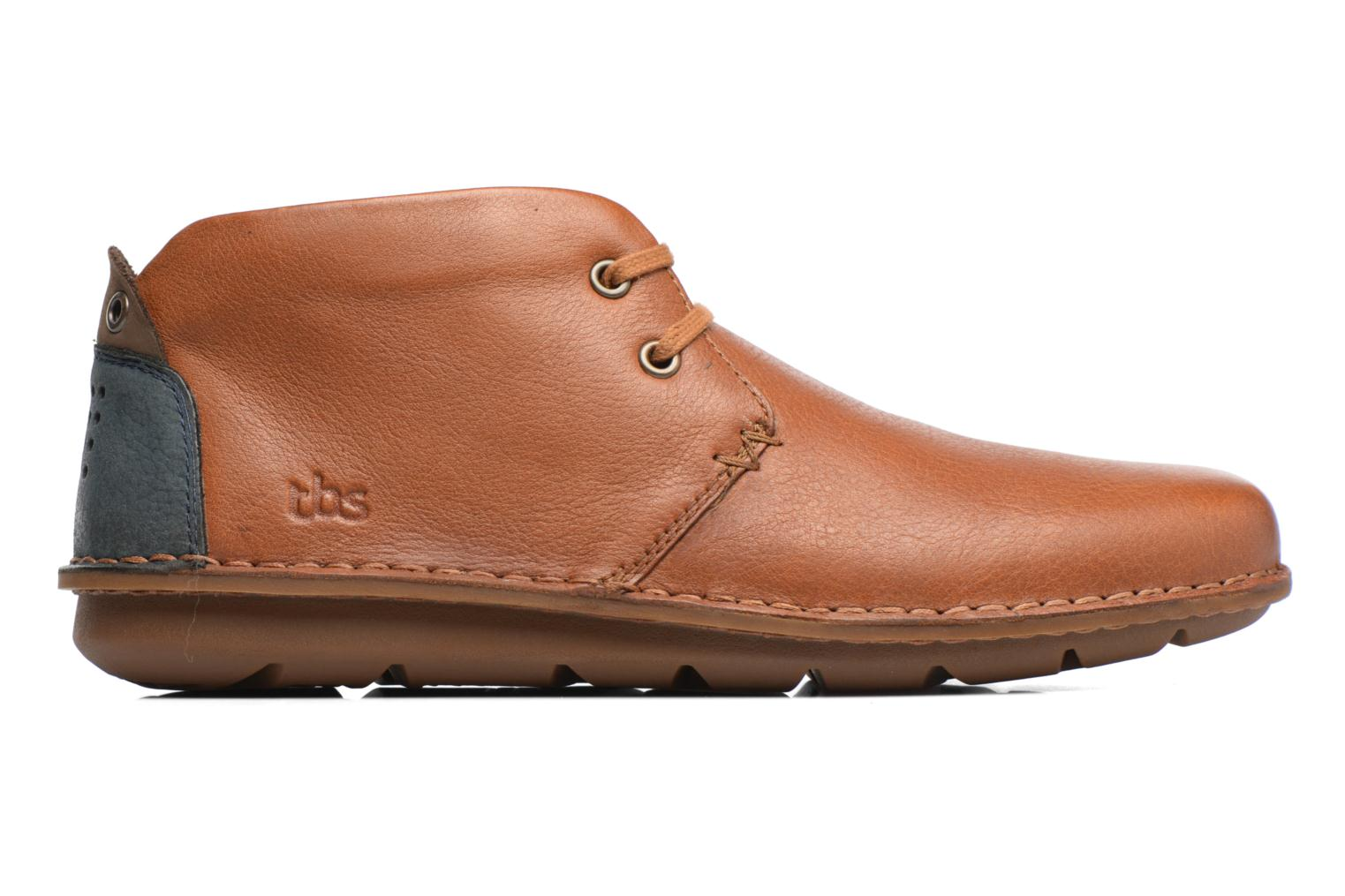 Lace-up shoes TBS Ystoryh Brown back view