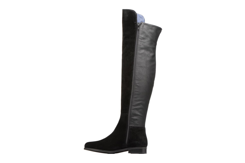 Boots & wellies PintoDiBlu Barbara Black front view