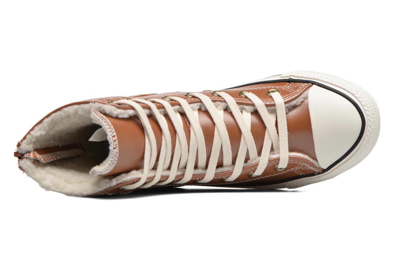 Baskets Converse Chuck Taylor All Star Hi-Rise Boot X-Hi Marron vue gauche