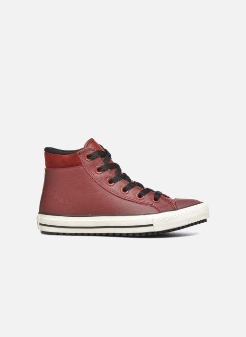 Sneakers Converse Chuck Taylor All Star Converse Boot Hi Rød se bagfra