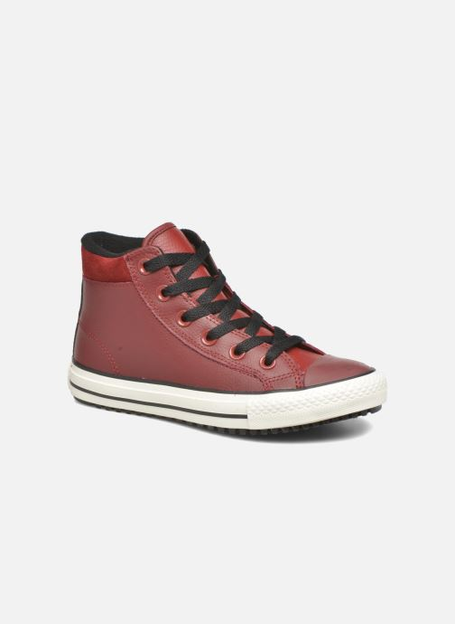 Sneakers Converse Chuck Taylor All Star Converse Boot Hi Rød detaljeret billede af skoene