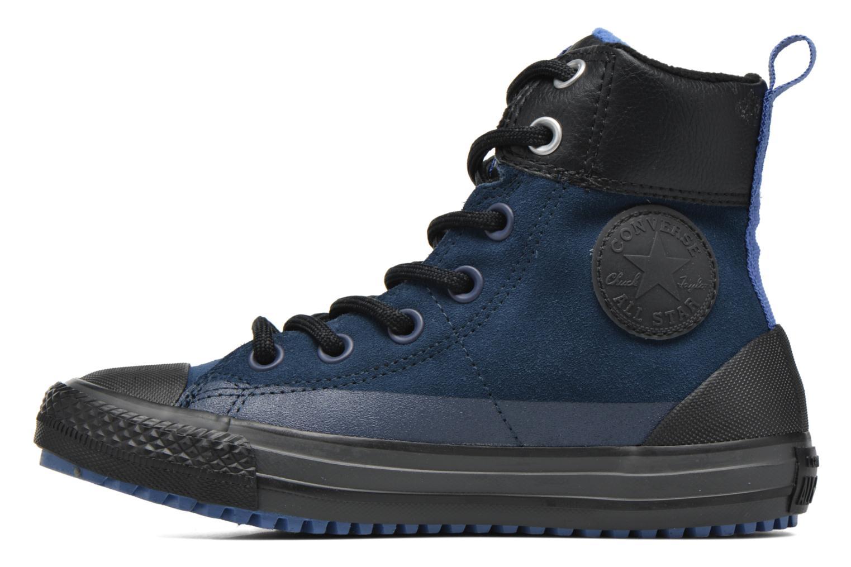 Baskets Converse Chuck Taylor All Star Asphalt Boot Hi Bleu vue face