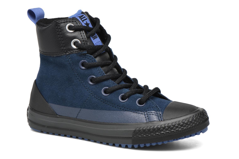 Baskets Converse Chuck Taylor All Star Asphalt Boot Hi Bleu vue détail/paire