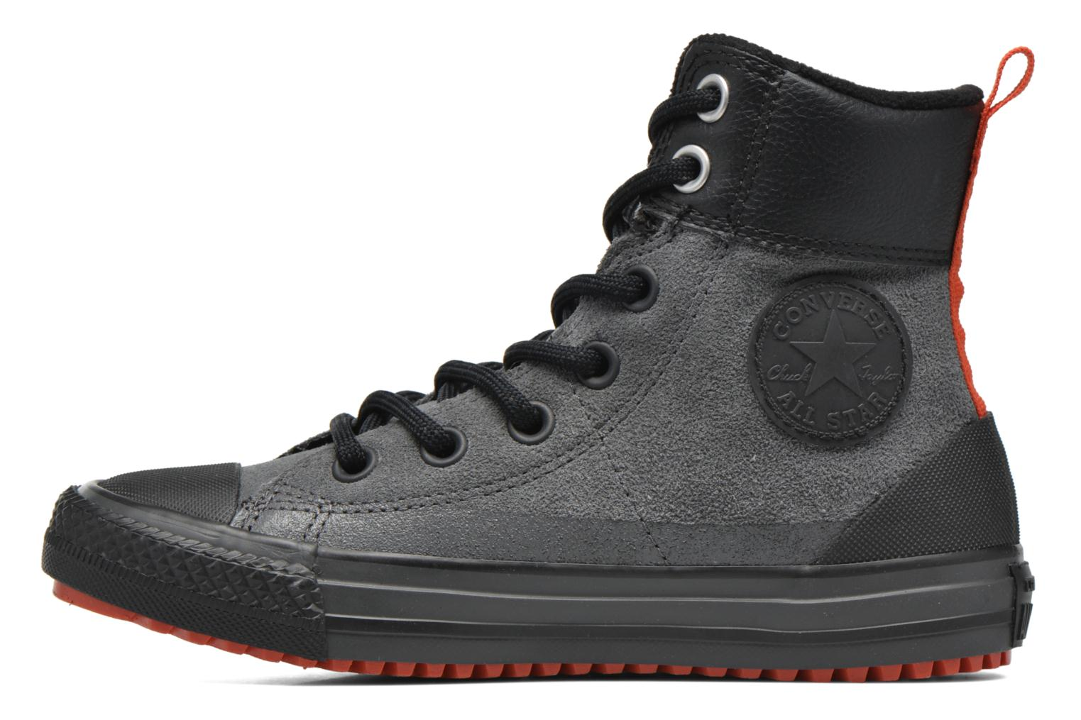 Baskets Converse Chuck Taylor All Star Asphalt Boot Hi Gris vue face
