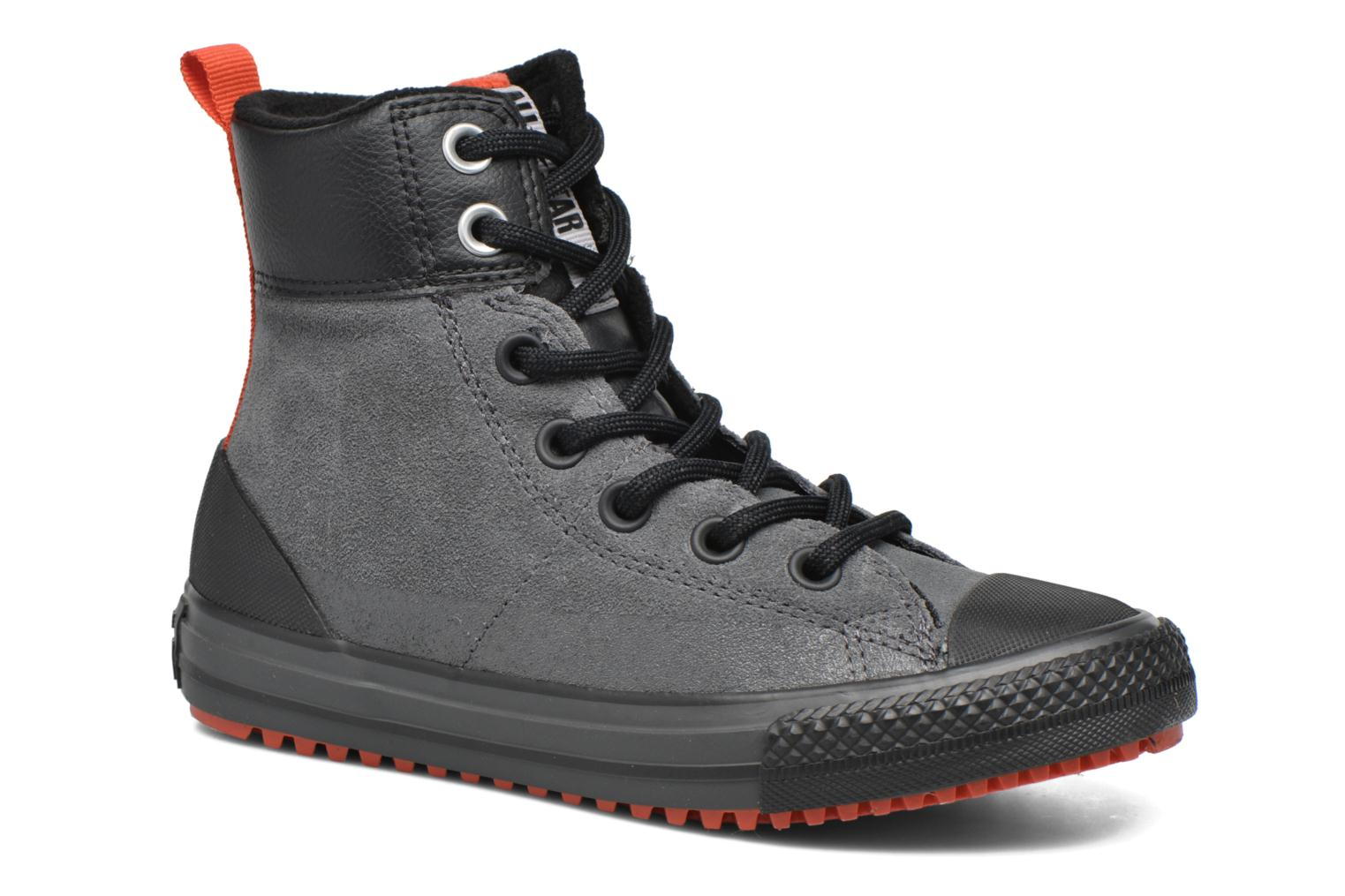 Baskets Converse Chuck Taylor All Star Asphalt Boot Hi Gris vue détail/paire