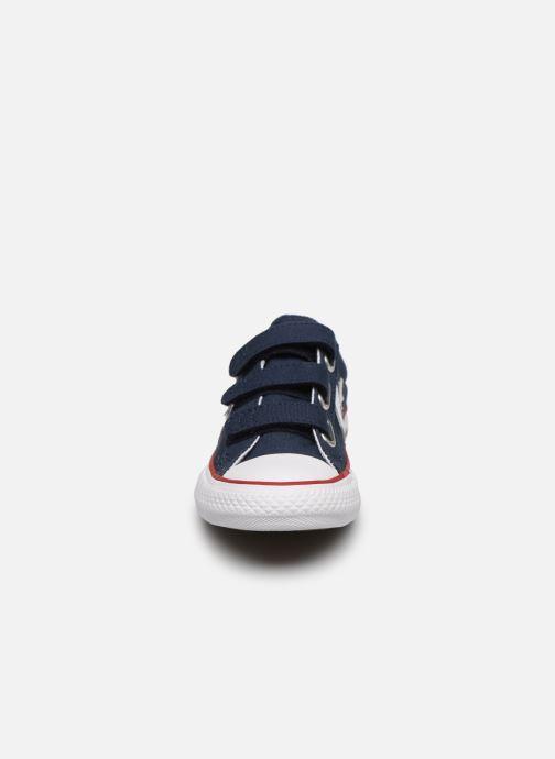 Baskets Converse Star Player 3V Ox Bleu vue portées chaussures