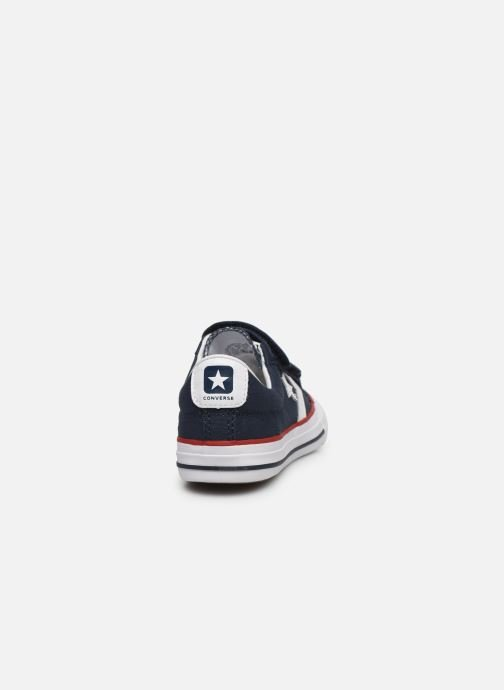 Baskets Converse Star Player 3V Ox Bleu vue droite