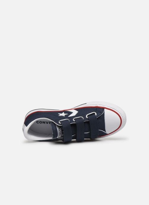 Sneakers Converse Star Player 3V Ox Blauw links