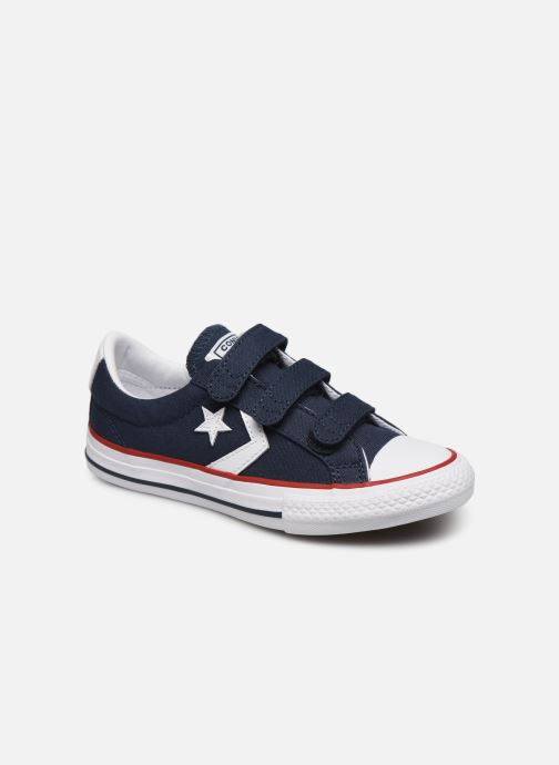 Sneakers Converse Star Player 3V Ox Blauw detail