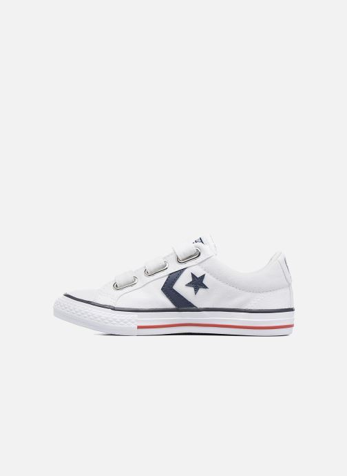 Trainers Converse Star Player 3V Ox White front view