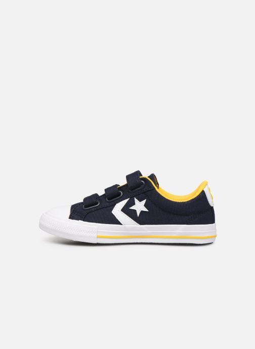 Sneaker Converse Star Player 3V Ox blau ansicht von vorne