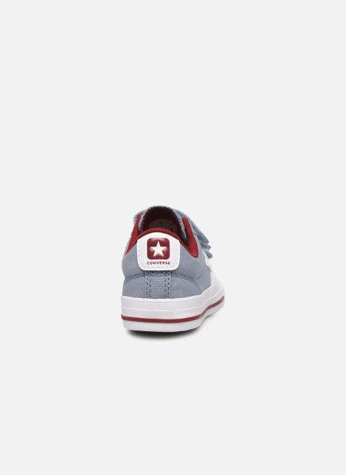 Trainers Converse Star Player 3V Ox Blue view from the right