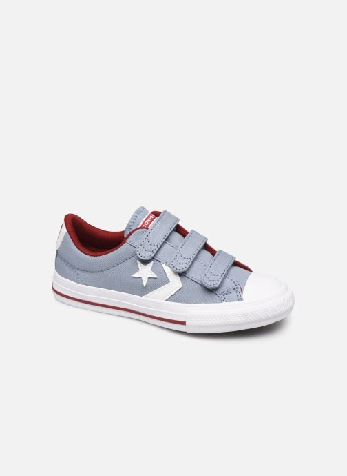 Trainers Converse Star Player 3V Ox Blue detailed view/ Pair view