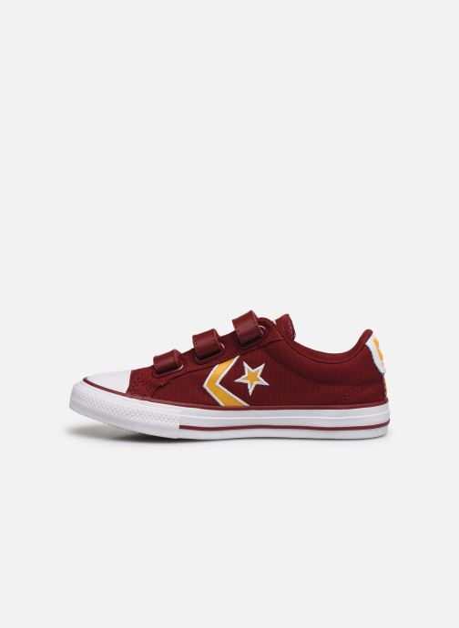 Baskets Converse Star Player 3V Ox Rouge vue face